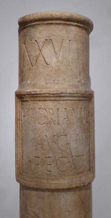 España, Sevilla, Museo Arqueólogo, milario, mile marker