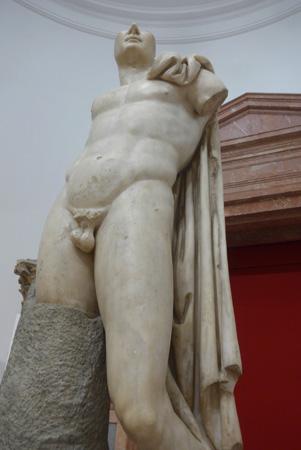 España, Sevilla, Museo Arqueológo, Trajan as hero