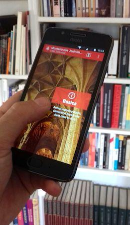 Endless Mile, app, Android, Lisbon, Mosteiro dos Jerónimos