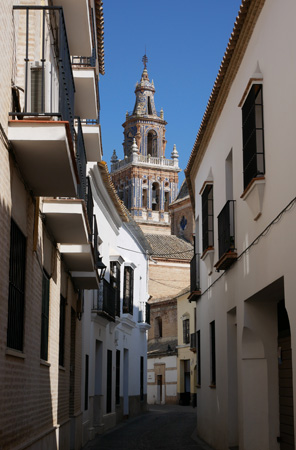 España, Spain, Andalucía, Écija, Iglesia de Santa María, torre