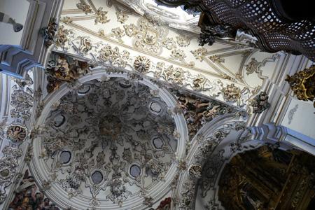 España, Spain, Andalucía, Écija, Iglesia de los Descalzos, Baroque