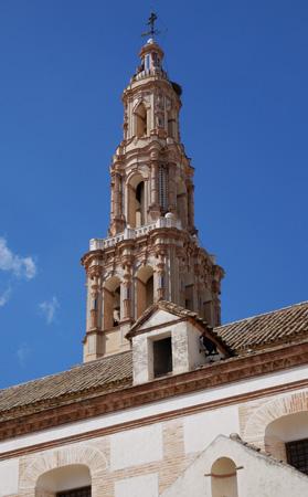 España, Spain, Andalucía, Écija, Iglesia de San Gil, torre
