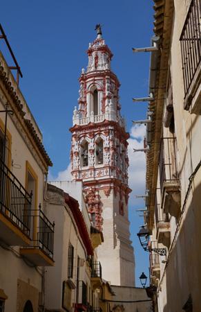 España, Spain, Andalucía, Écija, Iglesia de San Juan, torre