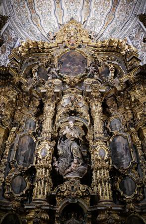 España, Spain, Sevilla, Jesuit, San Luis de los Franceses, Baroque, San Estanislao de Kotska