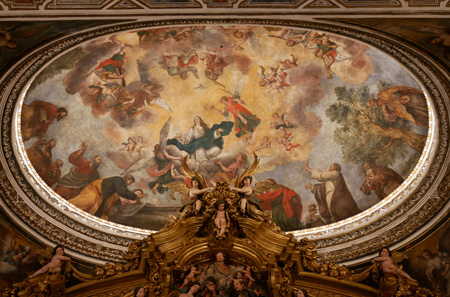 España, Spain, Sevilla, Jesuit, San Luis de los Franceses, Baroque, capilla doméstica