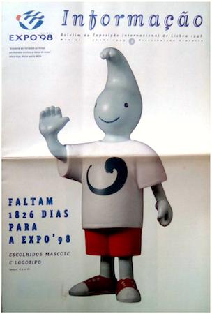 Portugal, Lisboa, Lisbon, Expo '98, Gil, mascot
