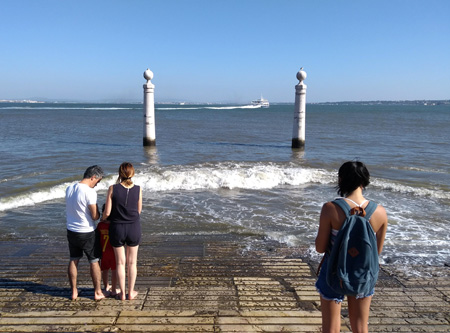 Rick Steves, guidebook research, Portugal, Lisboa, Cais das Columnas