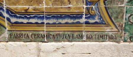 Lisboa, Chafariz da Junqueira, azulejos, tiles, Viúva Lamego