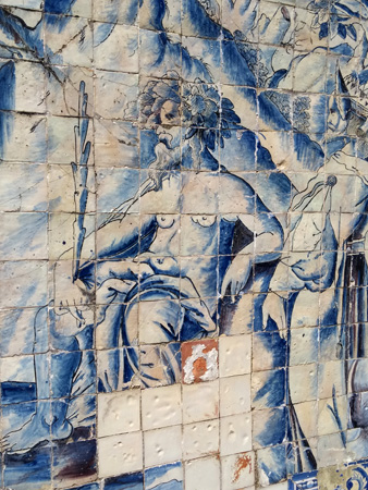 Portugal, Lisboa, Lisbon, Palácio Fronteira, Mascarenhas, azulejos