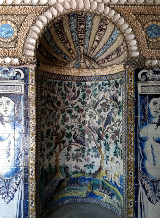 Portugal, Lisboa, Lisbon, Palácio Fronteira, Mascarenhas