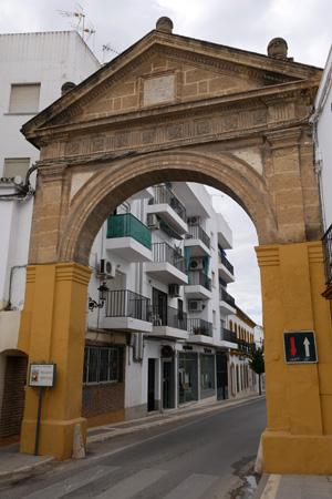 España, Andalucía, Osuna, Arco de la Pastora