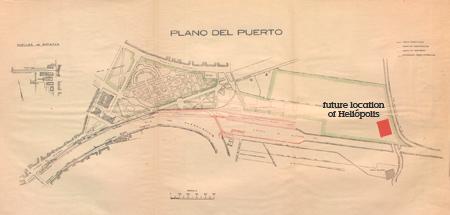 Heliópolis, plano, map, 1924