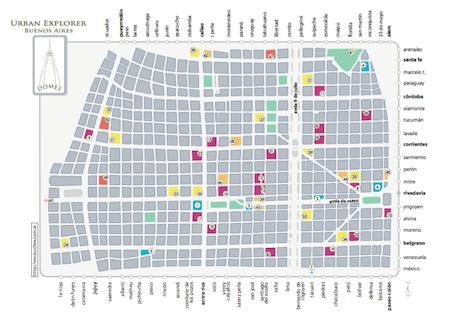 Buenos Aires, domes, cúpulas, 2007 map, Urban Explorer