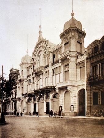 Teatro Coliseo Argentino, Carlos Nordmann, dome, cúpula