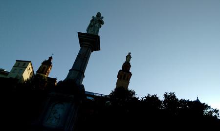 España, Spain, Andalucía, Sevilla, San Juan de Aznalfarache, Sagrado Corazón, monumento