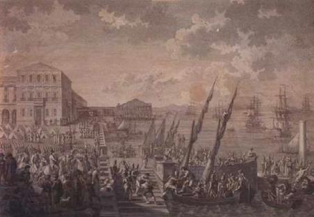 Portugal, Lisboa, Casi das Colunas, 1808