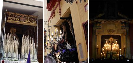 Andalucía, Sevilla, Semana Santa, Holy Week, entradas, salidas