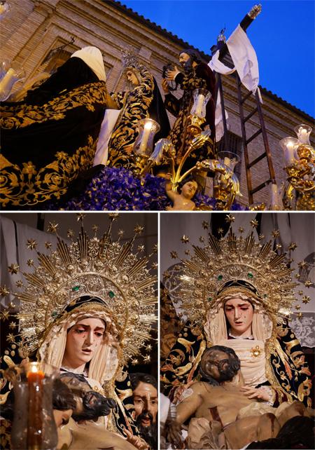Andalucía, Sevilla, Semana Santa, Holy Week, La Sagrada Mortaja