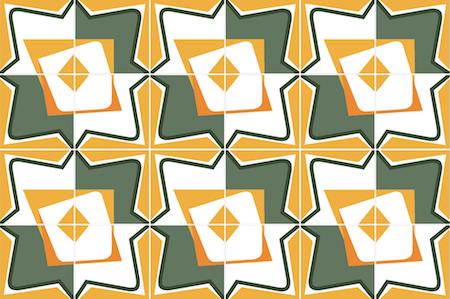 Azulejos, tiles, vector