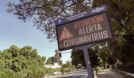 atención, coronavirus, Sevilla