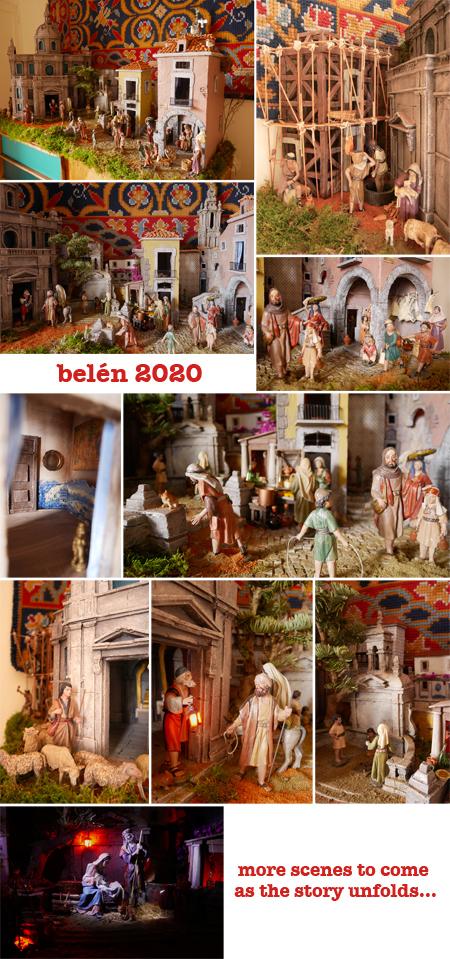 2020, nativity scene, belén