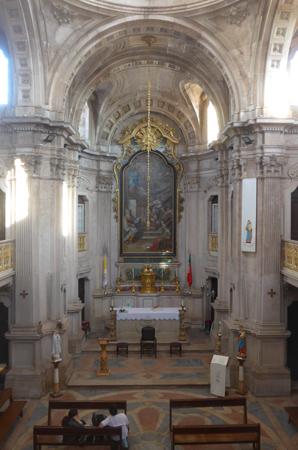 Portugal, Lisboa, Lisbon, Igreja da Memória, Baroque