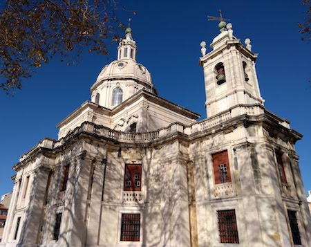 Portugal, Lisboa, Lisbon, Ayuda, Igreja da Memória, Baroque
