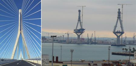 España, Spain, Andalucía, Cádiz, Puente de La Pepa, bridge