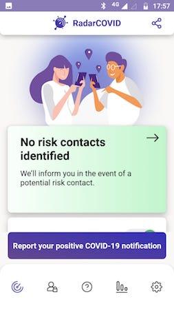España, Spain, COVID19, pandemic, Bluetooth, app, RadarCOVID