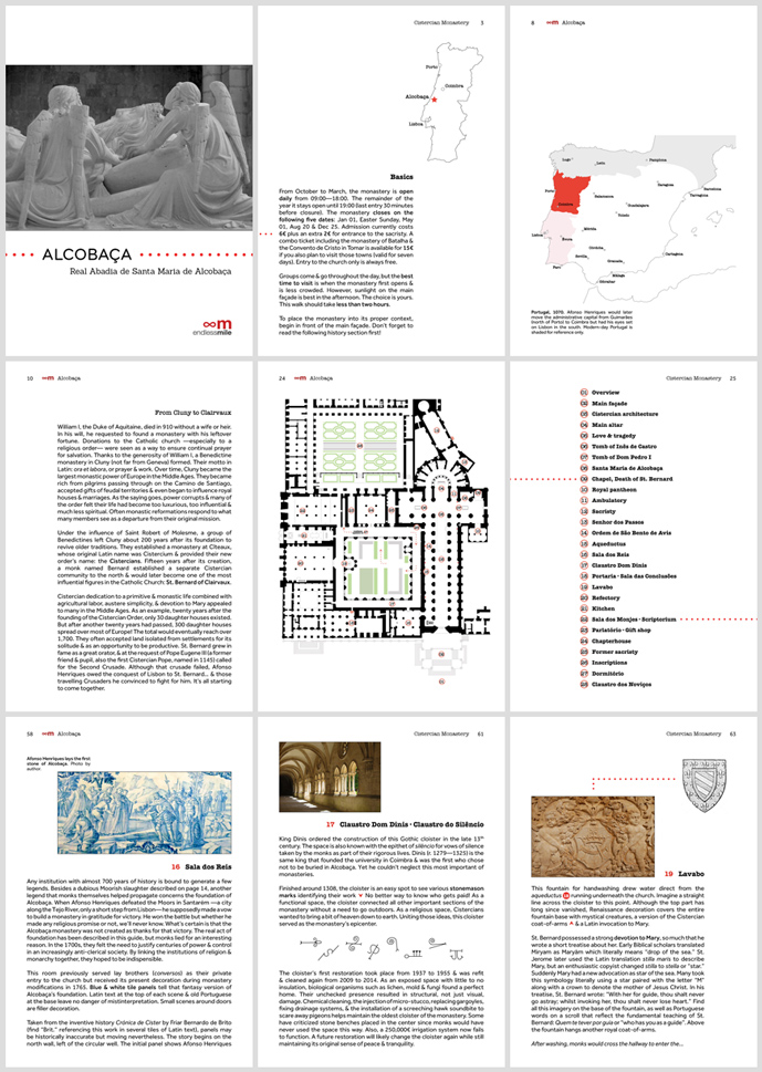 Endless Mile, Alcobaça, PDF, guide, guidebook, handguide