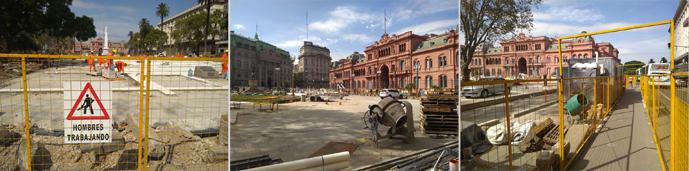 Endless Mile, Buenos Aires, Plaza de Mayo, 2018 obras